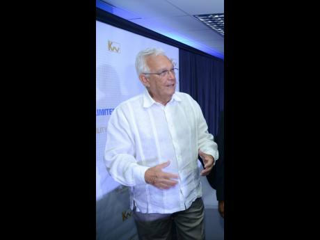 Charles Johnston, president of the Shipping Association of Jamaica and director of Kingston Wharves Limited.