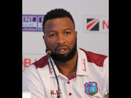 West Indies captain Kieran Pollard.
