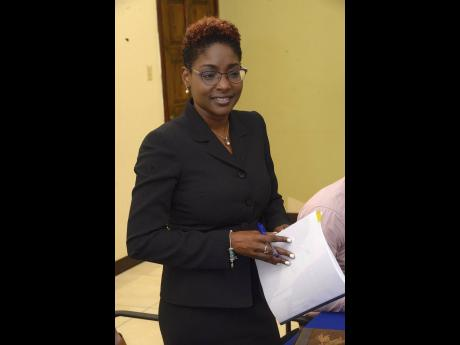Pamela Monroe Ellis, the auditor geneal.
