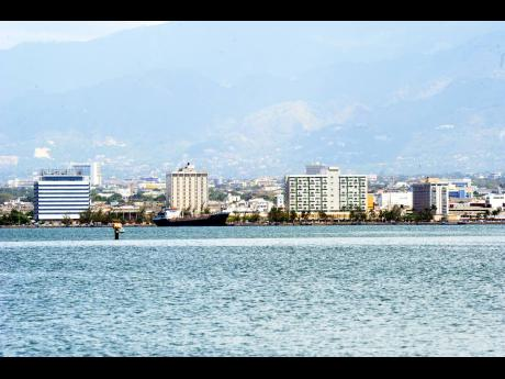 The city of Kingston as seen from the downtown waterfront. Businesses are coming to market with products and services that persons concerned about the coronavirus are likely to demand.