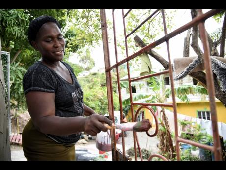 Susanette Facey expressed joy at no longer being under quarantine in her Bull Bay, St Andrew community