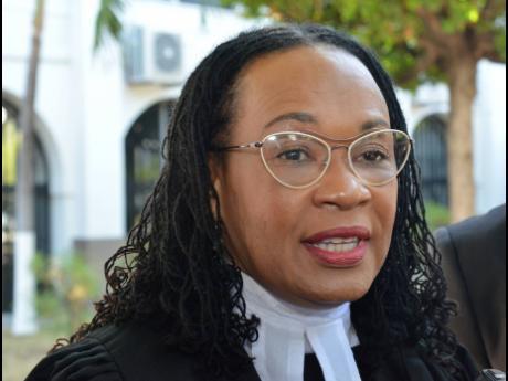 Donna Scott Mottley, opposition spokesperson on justice.
