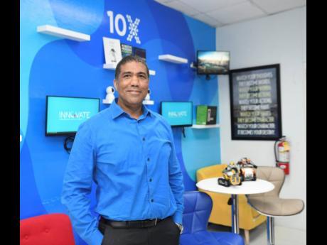 Innovate 10X CEO Sheldon Powe.