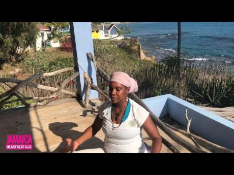 Empress Thandi Wise, Certified Yoga Instructor from Rasta Wellness Centre and Jakes Hotel