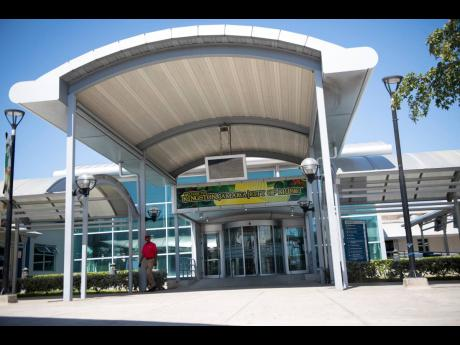 The usually busy arrivals area at the Norman Manley International Airport in Kingston was deserted on Sunday, March 15, as international travel began grinding to a halt to slow the spread of the deadly coronavirus around the globe.