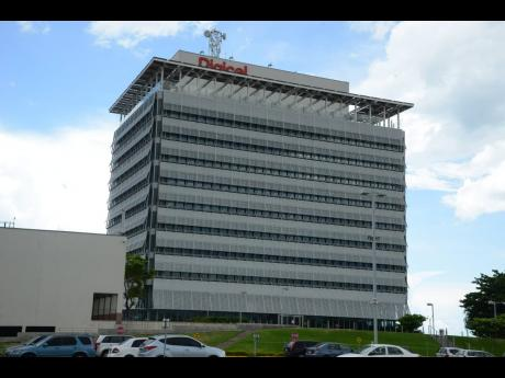 Digicel headquarters in downtown Kingston.