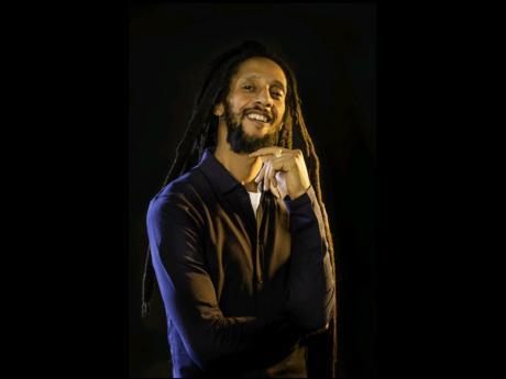 Reggae recording artiste Julian Marley.