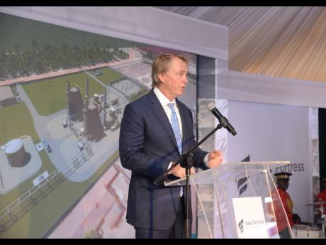 Wes Edens, chairman of New Fortress Energy.