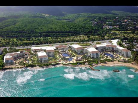The Hyatt Ziva and Hyatt Zilara hotels operated by Playa Resorts at Rose Hall, Montego Bay.