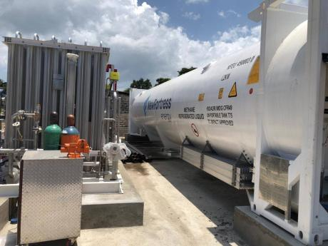 Hampden Estates is now powering its boilers with LNG.