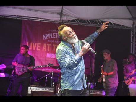 Reggae artiste Freddie McGregor.