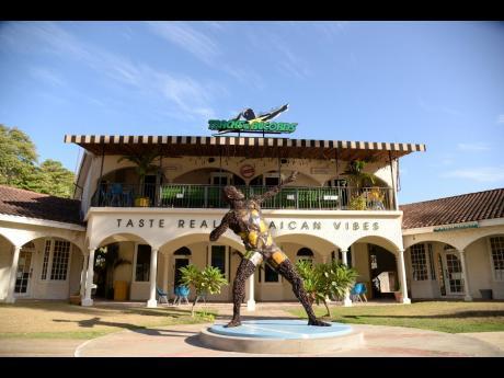 The UBTR franchise restaurant in Montego Bay.