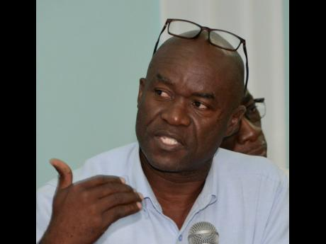 Hugh Johnson, president of the Small Business Association of Jamaica.
