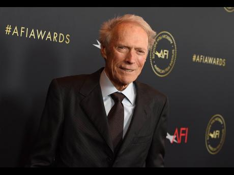 AP  Clint Eastwood arrives at the AFI Awards on January 3, in Los Angeles.