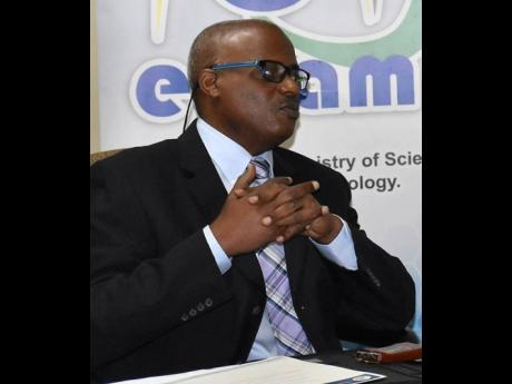 Keith Smith, CEO of e-Learning Jamaica Company Limited.
