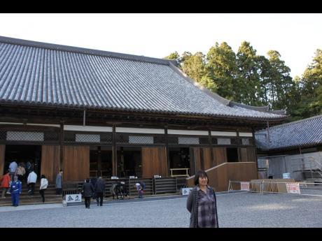 The main temple building of Zuigan-ji.