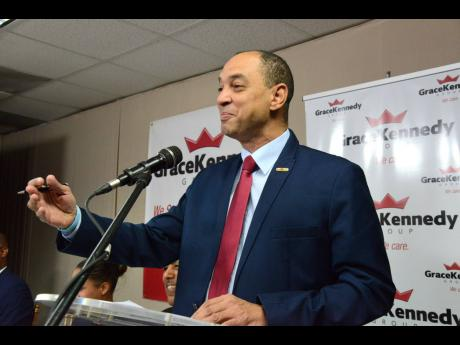 Don Wehby, Group CEO of GraceKennedy Limited.
