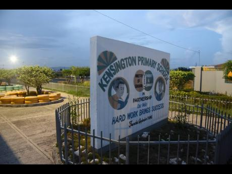 Kensington Primary in Portmore - ground zero for a stand-off over hair and school rules between 2018 and 2020.