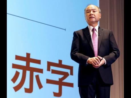 SoftBank founder and CEO Masayoshi Son.