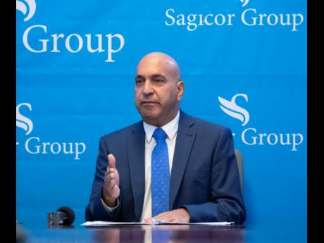 President & CEO of Sagicor Group Jamaica Limited, Christopher Zacca.
