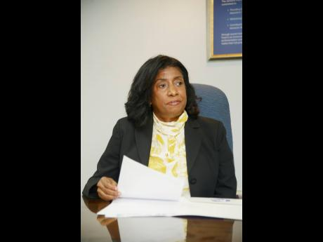 Antoinette McKain, CEO of the Jamaica Deposit Insurance Corporation.