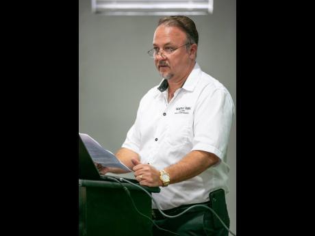 Gordon Clarke, managing director of Worthy Park Estate Limited.
