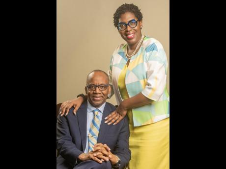 Bishop Dr Roy Notice and his wife, Dr Vinette Notice.