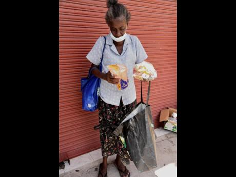 Jacqueline Rodgers now depends on poor relief to survive.