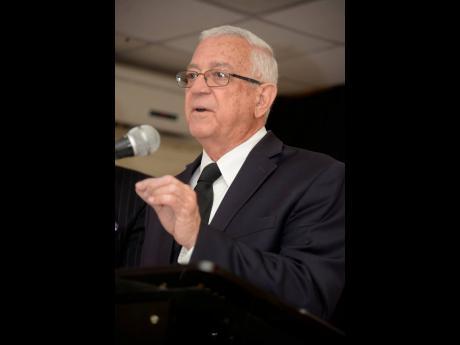 Former Kingston Central MP, Ronald Thwaites.