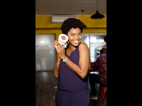 Stacy-Ann Smith was positively glowing at the recently held Taste and Buy event.
