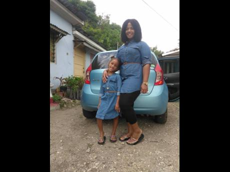 Rasheba Edwards and her daughter, Ramanyea Waugh.