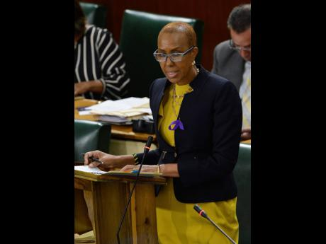 Fayval Williams, minister of education, youth and information.