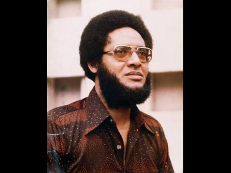 Dr D.K. Duncan, a veteran political street campaigner, is seen here in a March 1982 photograph.