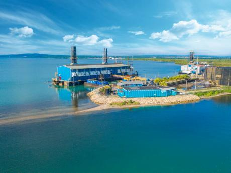 File  Aerial view of Jamaica Energy Partners.