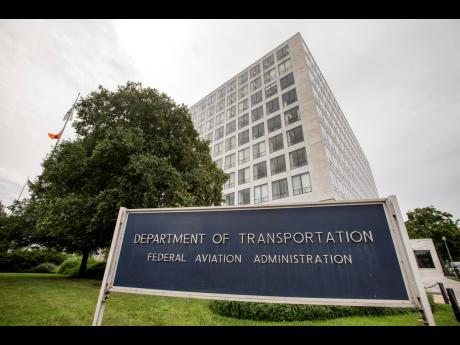 The Department of Transportation Federal Aviation Administration building in Washington.