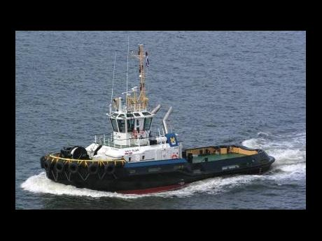 A typical Damen harbour tug.