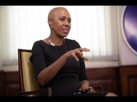 Fayval Williams, Jamaica's minister of education, said that tablets would be distributed to thousands of Jamaican students in grades four to six and 10 to 13.