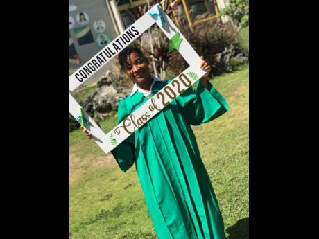 Otisa Wilmoth, former head girl of Green Pond High School in St James, has topped her graduating class with a stellar CSEC performance.