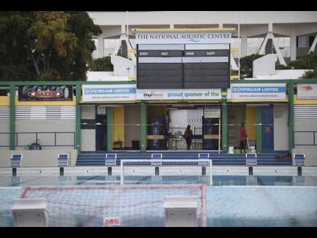 The National Aquatic Centre in St Andrew.