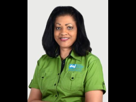 Lurline Less, president of the Diabetes Association of Jamaica.