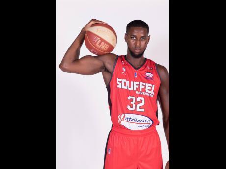 Jamaican basketballer Kentan Facey.