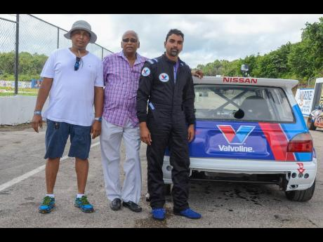 Whether it's drag racing or circuit racing, the Williams father-and-sons combination of Orville and Kishore are a tight team.