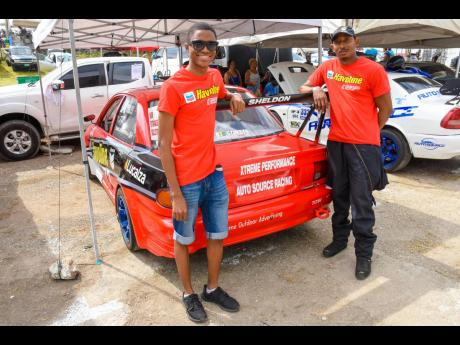 On or off the track, his son Akello is one of Sheldon Morgan's biggest fans, and is ever present to form another father and son racing team.