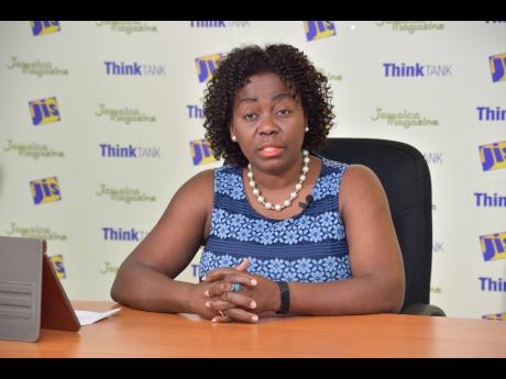 Gloria Henry, president of the Global Services Association of Jamaica.