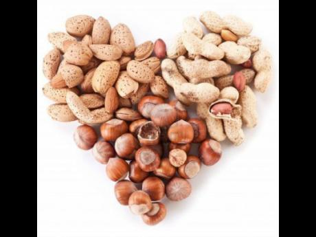 Eating nuts as part of a healthy diet may be good for your heart.