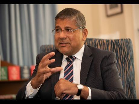 British High Commissioner Asif Ahmad.
