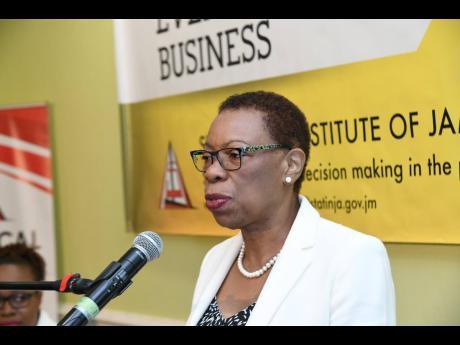 Carol Coy, director general, Statistical Institute of Jamaica.
