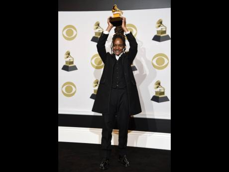 Koffee won the award for Best Reggae Album for 'Rapture' at the 62nd annual Grammy Awards.