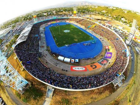 Aerial view of the National Stadium.