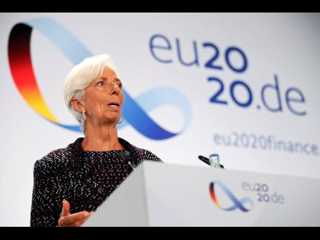 AP European Central Bank President Christine Lagarde.
